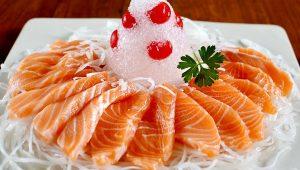 Cá hồi có chứa nhiều vitamin D