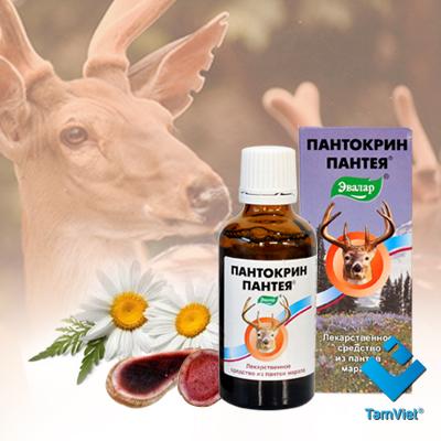 tinh chất nhung hươu pantocrin
